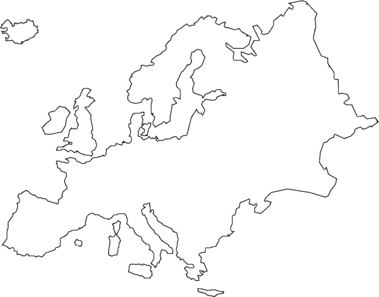 europe continent outline related keywords europe